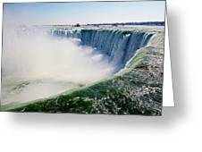 Over Falls Greeting Card