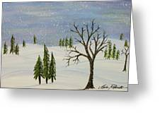 Over The River And Through The Trees Greeting Card