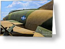 Over The Shoulder F-100 Greeting Card