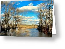 Over The Waters Greeting Card
