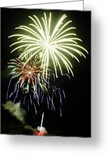 4th Of July Fireworks 5 Greeting Card