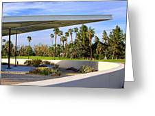 Overhang Palm Springs Tram Station Greeting Card