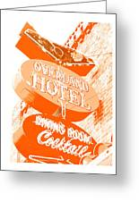 Overland Hotel Greeting Card