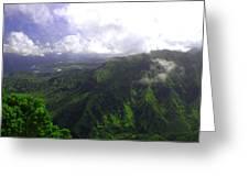 Overlooking Hanalei Bay Greeting Card