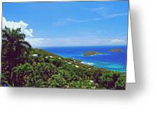 Overlooking Paradise Greeting Card