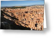 Overview At Bryce Canyon Greeting Card