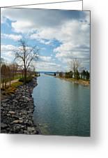 Owasco Lake Outlet Greeting Card