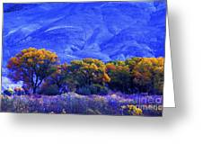Owens Valley Fall Colors  Greeting Card