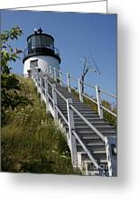 Owls Head Light - Me Greeting Card