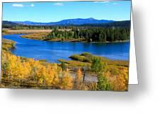 Oxbow Bend, Grand Teton National Park Greeting Card