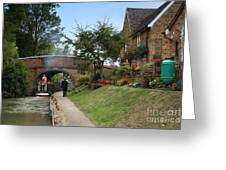 Oxford Canal Greeting Card