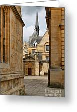 Oxford Courtyard 5899 Greeting Card