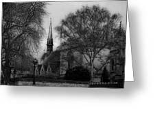 Oxford England Greeting Card