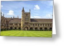Oxford Greeting Card
