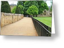 Oxford Walkway 5952 Greeting Card