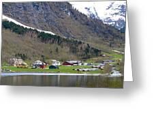 Oye Norway Greeting Card