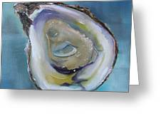 Oyster On The Half Shell Greeting Card