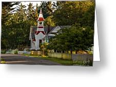 Oysterville Church Greeting Card