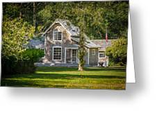 Oysterville House 7 Greeting Card