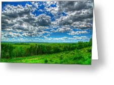 Ozark Pasture #3 Greeting Card