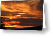 Ozark Sunset Greeting Card