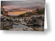 Ozark Mountain Stream Greeting Card