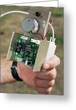 Ozone Sensor Greeting Card