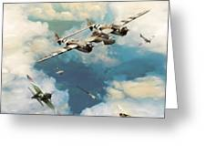 P-38 Lighting Greeting Card