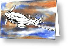 P-40 Warhawk 1 Greeting Card