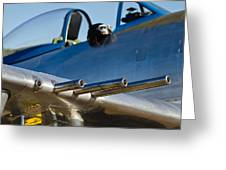 P 41 Fighter Greeting Card
