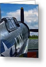 P-47 Thunderbolt Greeting Card