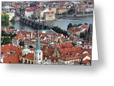Prague - Charles Bridge Greeting Card