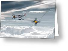 P51 Mustang - Old Crow Greeting Card