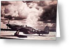 P51 Ray Of Hope Greeting Card