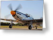 P51 The Brat Greeting Card