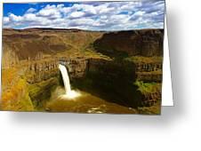 Pa Louse Falls Greeting Card