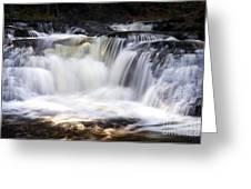 Pa. Waterfalls Greeting Card