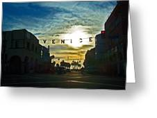 Pacific Ave Greeting Card