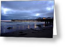 Pacific Beach Pier Greeting Card
