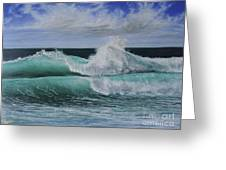 Pacific Breeze Greeting Card