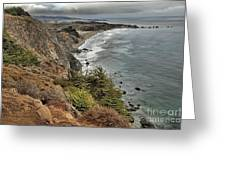 Pacific Coast Storm Clouds Greeting Card