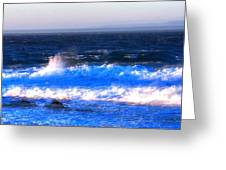 Pacific Grove Surf 19806 Greeting Card