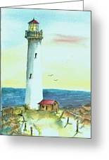 Pacific Lighthouse Greeting Card