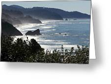 Pacific Mist Greeting Card