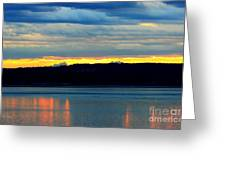 Pacific Northwest Morning Greeting Card