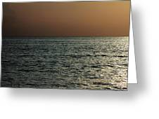Pacific Ocean Greeting Card by Maxwell Amaro