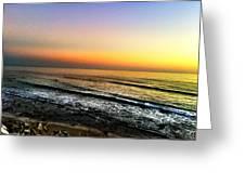 Pacific Palisades California  Greeting Card