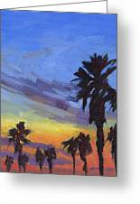 Pacific Sunset 2 Greeting Card