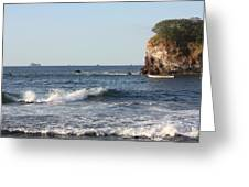 Pacific View Greeting Card