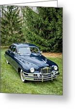 Packard 1 Greeting Card